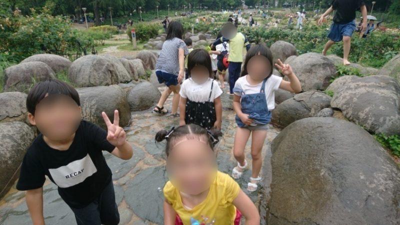 バラ園会+水遊び 開催報告
